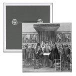 Tratado de Breda, el 31 de julio de 1667 Pin Cuadrada 5 Cm