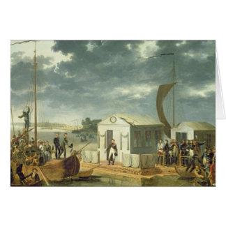 Tratado de Tilsitz, 1807 Tarjetas