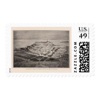 Tratamiento arquitectónico sugerido colina del sello postal