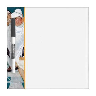 Tratamiento completo tablero blanco