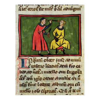 Tratamiento quirúrgico, de una edición postal