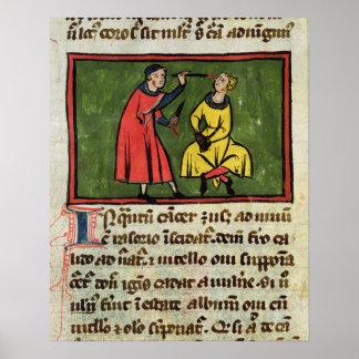 Tratamiento quirúrgico, de una edición póster
