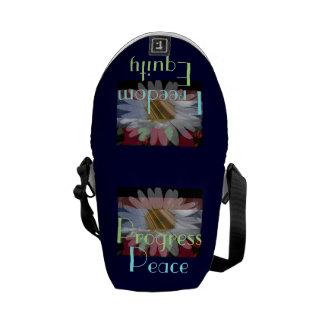 ¡Tratante de la paz! La mini bolsa de mensajero de Bolsa De Mensajería