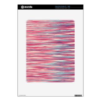 Trate el diseño con suavidad calcomanías para iPad