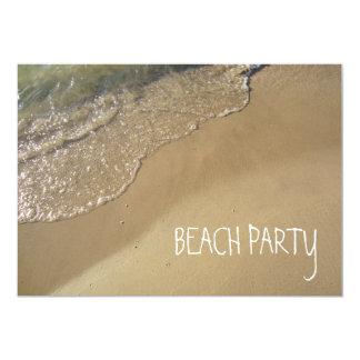 Trate el océano el lago Michigan de la playa con Invitaciones Personalizada