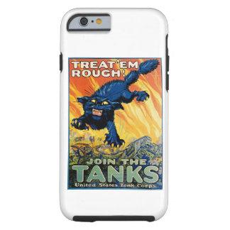 Trátelos ásperos - únase a los tanques funda de iPhone 6 tough