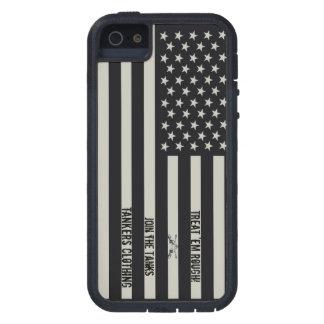 ¡Trátelos caso áspero del iPhone 5 de la bandera Funda Para iPhone 5 Tough Xtreme