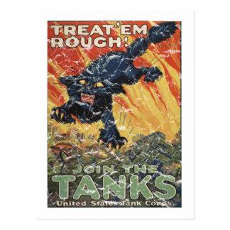 Trátelos Rough-1918 - apenado Postal