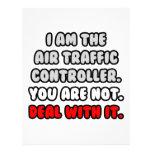 Trato con él… controlador aéreo divertido membrete