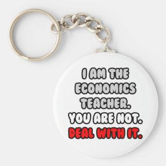Trato con él… profesor divertido de la economía llaveros