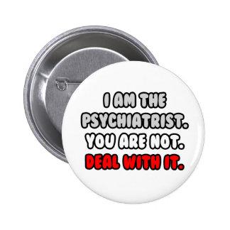 Trato con él… psiquiatra divertido pin
