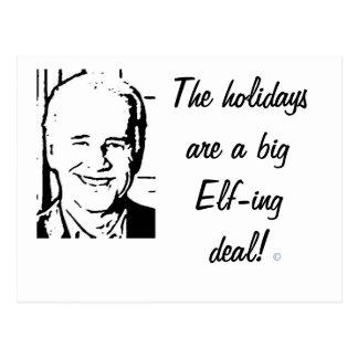 Trato grande del Duende-ing de Joe Biden Postal