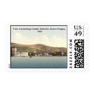 Traû, Camerlengo Castle, Dalmatia, Austro-Hungary Postage