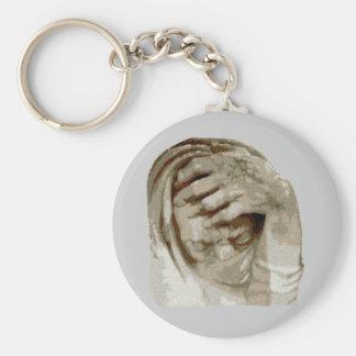 Trauer grief mourning sorrow keychain
