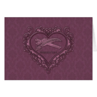 Trauerkarte Greeting Card