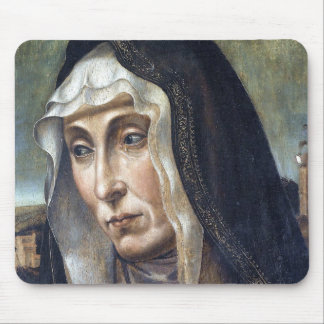 Trauernde Madonna Mouse Pad