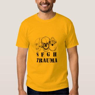 Trauma 10 de SFGH Playeras