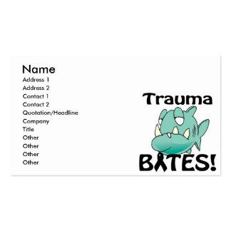 Trauma BITES Business Cards