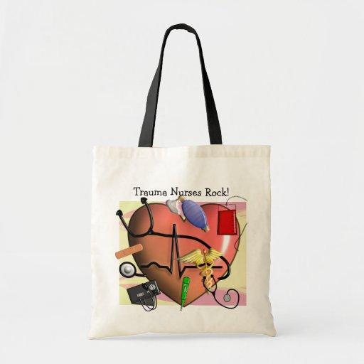Trauma Nurse Art Gifts Budget Tote Bag