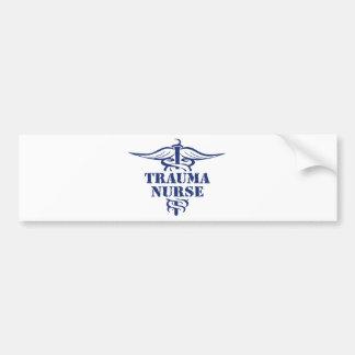 trauma nurse car bumper sticker