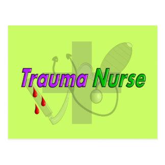 Trauma Nurse Gifts Postcard