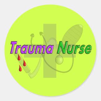 Trauma Nurse Gifts Stickers