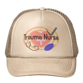 """Trauma Nurse"" Gifts Trucker Hat"