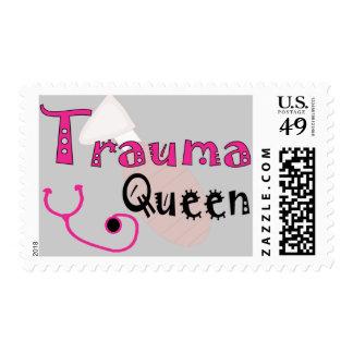 """Trauma Nurse  """"Trauma Queen"""" Gifts Postage"""