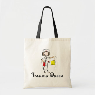 "Trauma Nurse ""Trauma Queen""  T-Shirts and Gifts Tote Bag"
