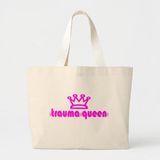 Trauma Queen Large Tote Bag