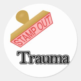 Trauma Sticker