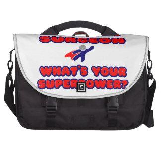 Trauma Surgeon .. What's Your Superpower? Laptop Messenger Bag