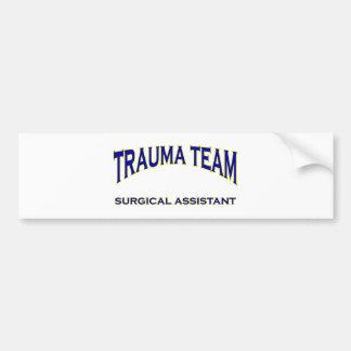 Trauma Surgical Assistant Bumper Sticker