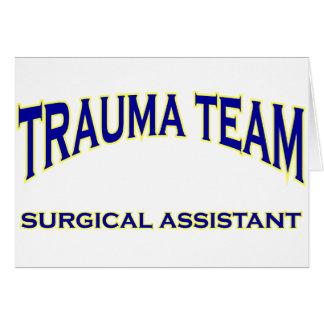 Trauma Surgical Assistant Card