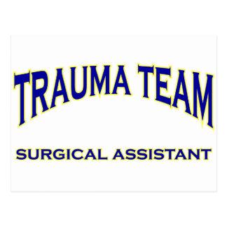 Trauma Surgical Assistant Postcard