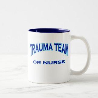 Trauma Team Two-Tone Coffee Mug