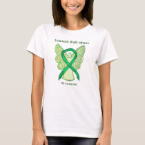Traumatic Brain Injuries Awareness Ribbon T-Shirt