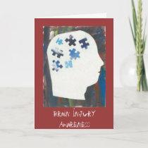 Traumatic Brain Injury Awareness Card