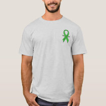 Traumatic Brain Injury Awareness Ribbon with Wings T-Shirt