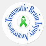 Traumatic Brain Injury Awareness Stickers