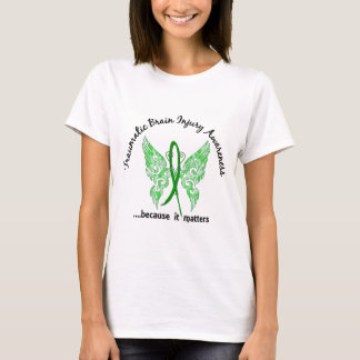 Traumatic Brain Injury Butterfly 6.1 T-Shirt
