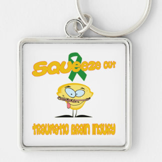 Traumatic Brain Injury Keychain