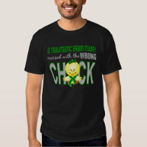 Traumatic Brain Injury Messed With Wrong Chick Tee Shirt