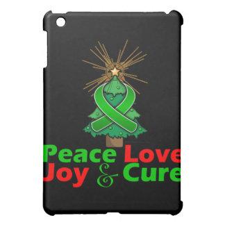 Traumatic Brain Injury Peace Love Joy Cure iPad Mini Case