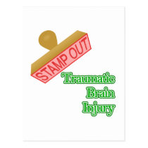Traumatic Brain Injury Postcard