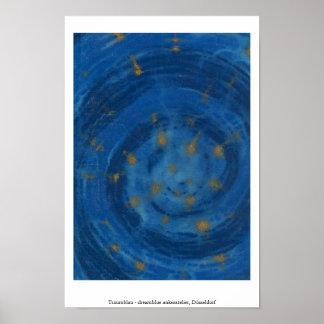Traumblau - dreamblue póster