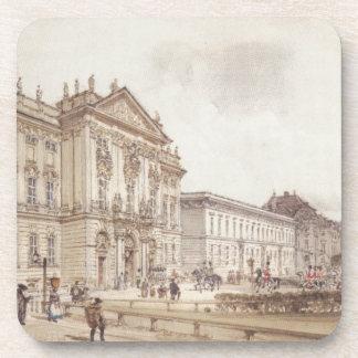 Trautson Palace in Vienna by Rudolf von Alt Coaster