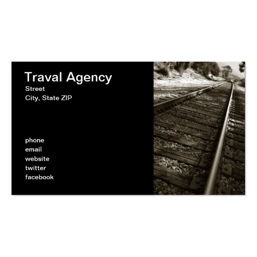 Traval Agency Business Cards
