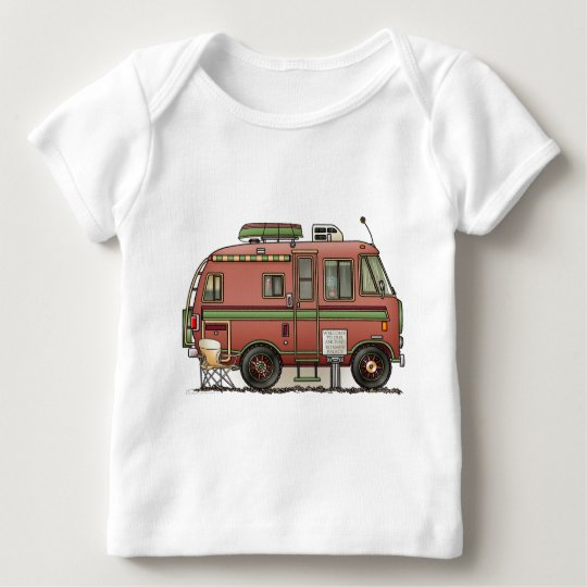 Travco Motor Home Camper RV Baby T-Shirt