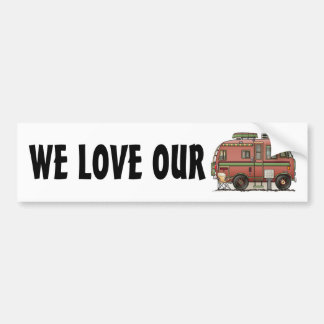 Travco Motor Home Camper RV Bumper Sticker